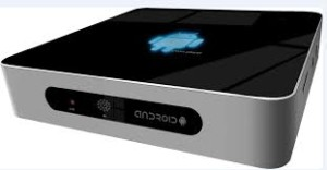 Google TV set-top box