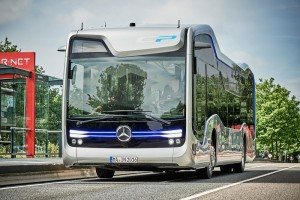 Self-Driving Bus of Mercedes has Completed Its Test Drive in Netherlands