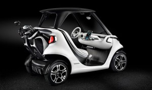 "High-Tech Golf Cart ""Sports Car"" Introduced by Mercedes-Benz"