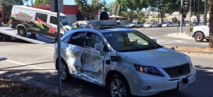 Why a Serious Crash Occurred of Google's Autonomous Vehicle?