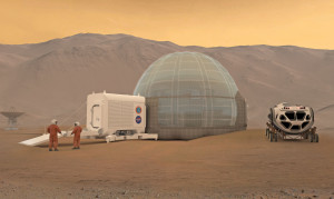 Donut shelters on Mars