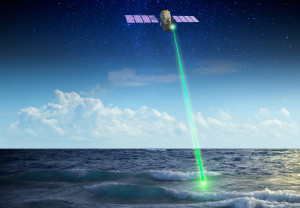 NASA uses Laser