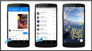 Enhanced Camera Added in Facebook Messenger for Special Effects