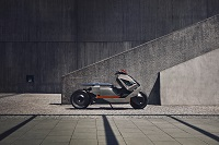 Concept Link Futuristic Latest Electric Motorcycle from BMW