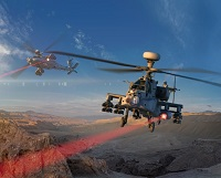 U.S Army Tested Laser Weapons using Apache AH-64