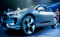 all-electric SUV of Jaguar