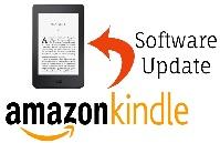 Kindle E-reader software update