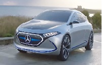 All Electric EQA concept of Mercedes Benz