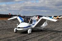 Terrafugia's first flying car