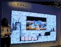 The Wall' display into a home TV