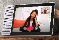 first Google Assistant smart display of Lenovo