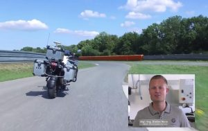 Self Driving Motorcycle of BMW Motorrad