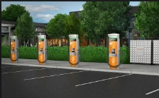 EV stations in North America