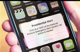 FEMA Presidential test alert