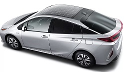 Hyundai and Kia cars with solar panels