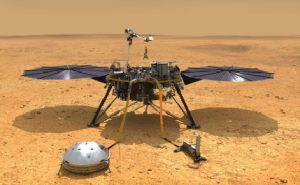 InSight Lander of NASA on Mars