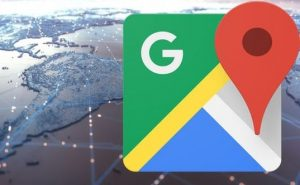 Google Maps with new feature