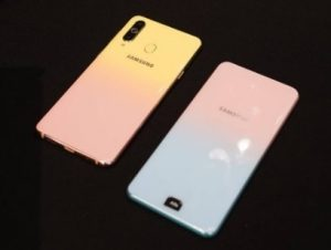 Female Edition of Samsung Galaxy A8S launched on Valentine's Day in China