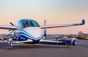 First Test Flight of Boeing Autonomous Taxi