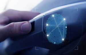 Unlock and start your car using fingerprint scanners