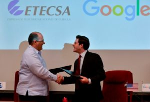 Google and Cuba signed an agreement to bring faster internet