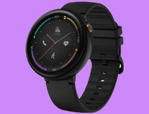 Amazfit Verge 2 with an ECG Monitor onboard Smartwatch