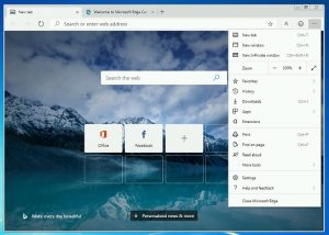 Beta Version of Microsoft Chromium Edge Browser is now available