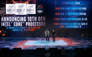 Intel officially announced Ice Lake and 10th Generation Processors