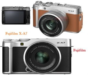 New X-A7 of Fujifilm offers Face Detection and 4K Video