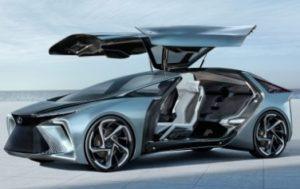 Lexus announced the LF-30 Electrified Concept at Tokyo Motor Show 2019