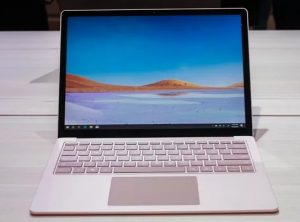Microsoft will offer the Surface Laptop 3 with 15-inch version