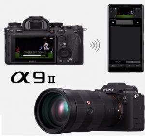 New Electrifying Alpha A9 II Full-frame Mirrorless Camera from Sony