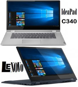 Get Lenovo IdeaPad C340 in 14 and 15.6 inch Models