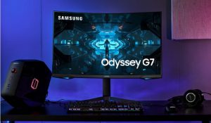 Get new Samsung Odyssey G7 Curved Gaming Monitor