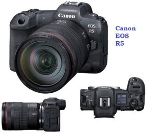 Canon EOS R5 has a perfect 45 megapixel camera at $3,899