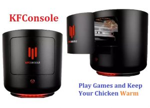 KFConsole can Keep Your Chicken Warm while Gaming