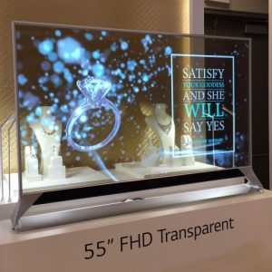 LG to present its Transparent OLED TVs at CES 2021 for Restaurants and Public Transit Windows