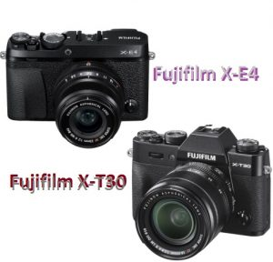 Fujifilm X-E4 and Fujifilm X-T30 are best Mirrorless Cameras for Beginners