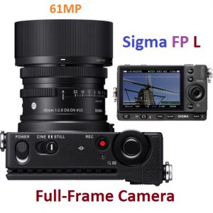 Get the World's Smallest 61MP Full-frame Camera, the Sigma FP L