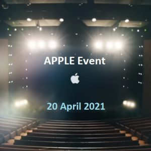 Apple has confirmed the Spring Event on Tuesday 20th April 2021