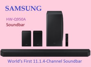 World's First 11.1.4-Channel Soundbar Room-filling Sound System